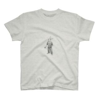 タバコを吸うウサギ T-shirts