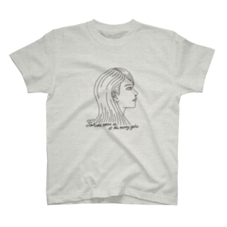 Fortune comes in at the merry gate. T-shirts