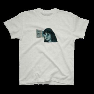 ミヤオウのポートレート1 T-shirts