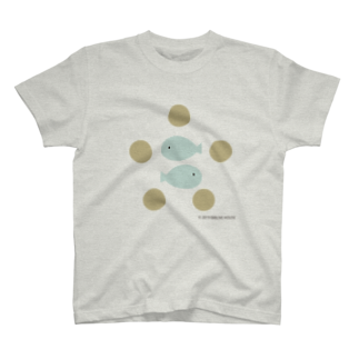 BIBLIVE HOUSE | クリスチャングッズの2ひきの魚と5つのパン T-shirts