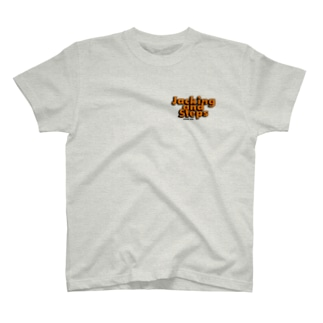 Jacking and Steps オレンジ T-shirts