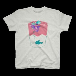 arehatoriの魚の内心 T-shirts