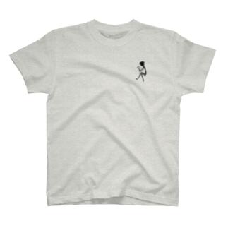 本を読む影 T-shirts