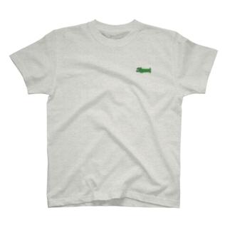 わにぽいんと T-shirts