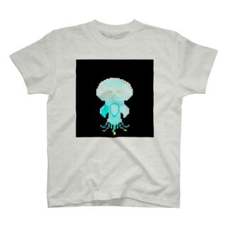 ドット きのこくらげ T-shirts