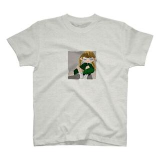 白靴下ちゃん T-shirts