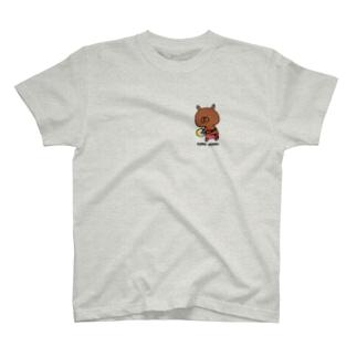ゆるうさぎ こんがり T-shirts