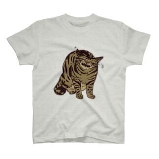 ぶしっ…ぶしっ…!! T-shirts