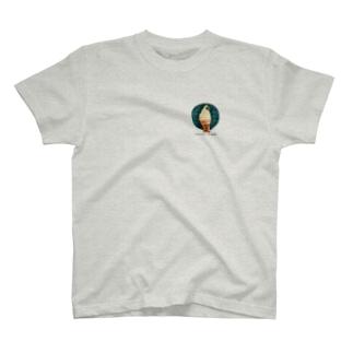 ソフトクリームbotロゴ(ワンポイント) T-shirts