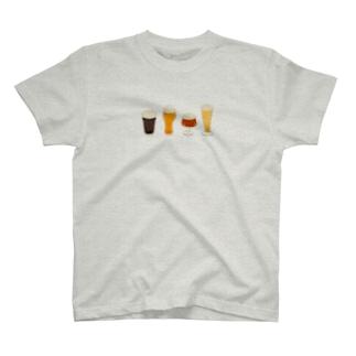 あわあわビール T-shirts