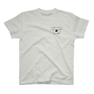 こあらちゃん ロゴ後ろ T-shirts