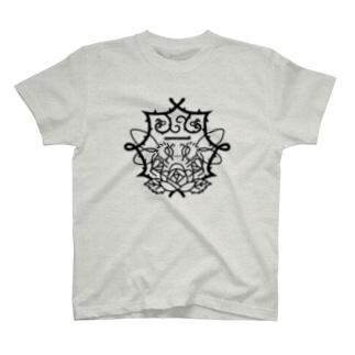 季節の紋章【一月】 T-shirts