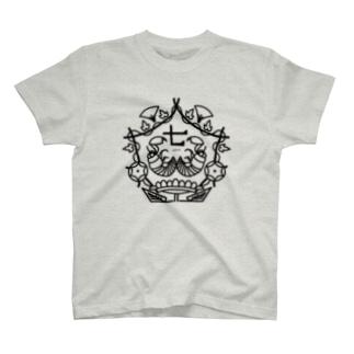 季節の紋章【七月】 T-shirts