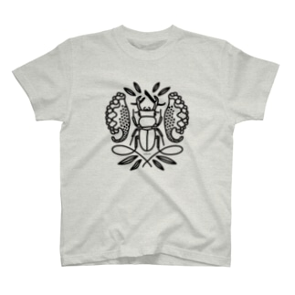 季節の紋章【八月】 T-shirts