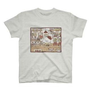 こどもにゃんこ商店 T-shirts