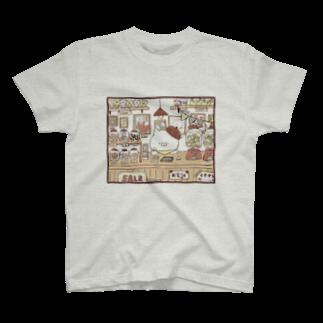 ぽちのこどもにゃんこ商店 T-shirts