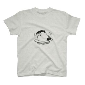 ゆれプリンUFO T-shirts