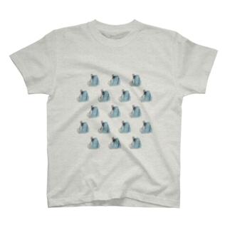 フレブルの豆大福はみてる T-shirts