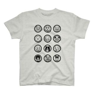 色んな犬  T-shirts