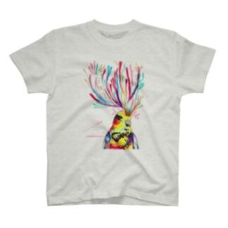 恋するインコTシャツ T-shirts