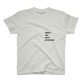 show me your presence T-shirts