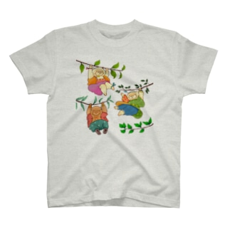 ぶらさがり3びき T-shirts