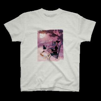 しまざきジョゼのChill out T-shirts