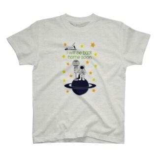 スペースサラリーマン T-shirts
