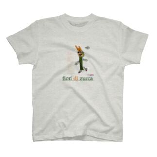 花ズッキーニ T-shirts