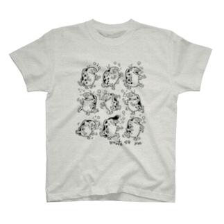 踊るよ、さかな T-shirts