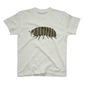 ダンゴムシ T-shirts