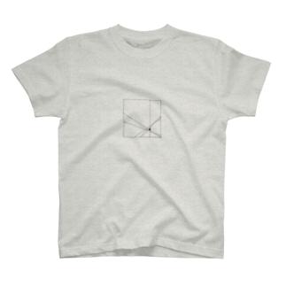 diagonal T-shirts
