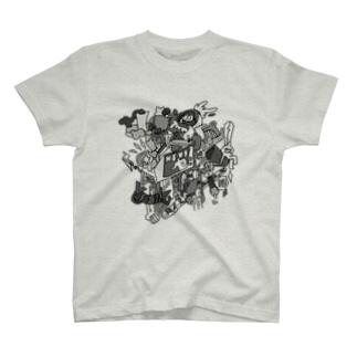 NEWS_mono T-shirts