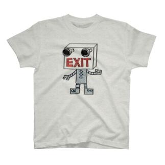 カナダのEXITロボ T-shirts