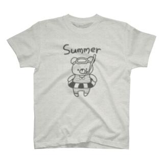 サマーてでぃちゃん T-shirts