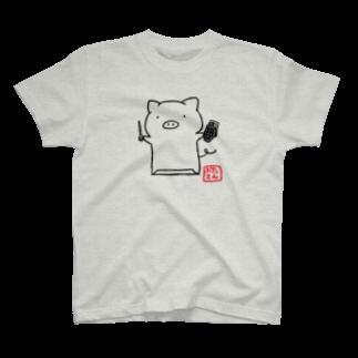 coalowl(コールアウル)のぶたさん爆ぜられT T-shirts