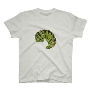 キアゲハの幼虫 T-shirts