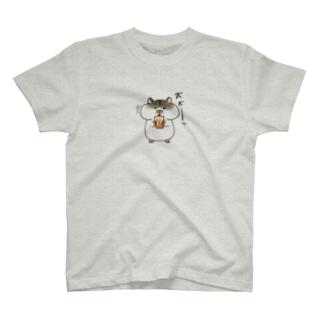 タピハムちゃん T-shirts