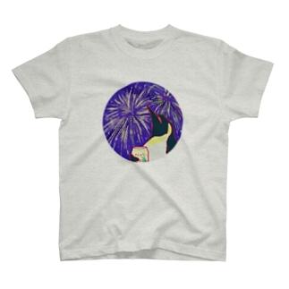 思い出の花火大会 T-shirts