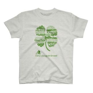 四つ葉のクローバーを探しに行こう! T-shirts