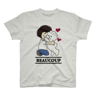 抱っこワンコ T-shirts