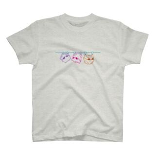 ビビット吊るされゲッ太T(両面) T-shirts