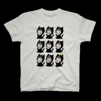 ほっかむねこ屋のオーダーTシャツ T-shirts