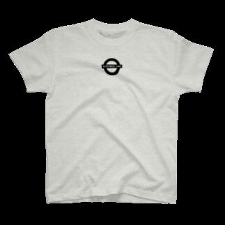 ダブルハピネスのキタラインハピネス T-shirts