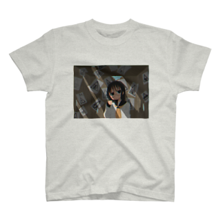 18384gの電子基準点 T-shirts
