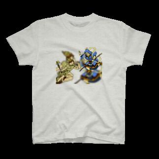 エムフィルムズのヘルメスvs韋駄天 T-shirts