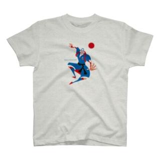Japanese soccer KABUKI T-shirts