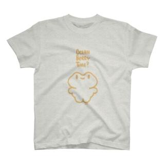 きゅきゅんば(イエロー) T-shirts