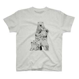 ホッキョクグマ T-shirts