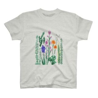 Floral garden  T-shirts